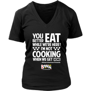 Eat While We Here Tee