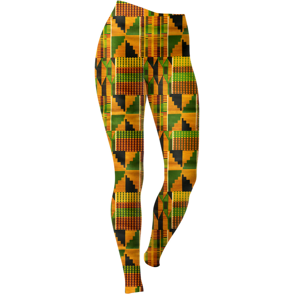 Kente Yoga Leggings