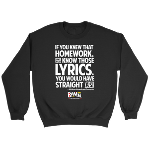 If You Knew That Homework Sweatshirt