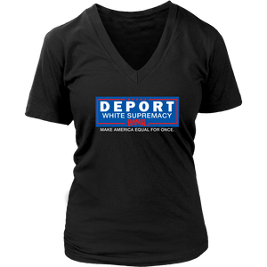 Deport White Supremacy Tee