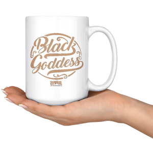 Black Goddess 15oz Mug