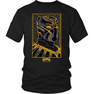 King of Wakanda Tee (Gold)