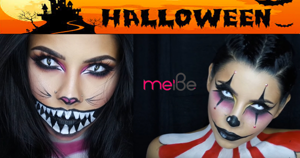 Coolest 'one-day' Makeup Ideas for Halloween Party!