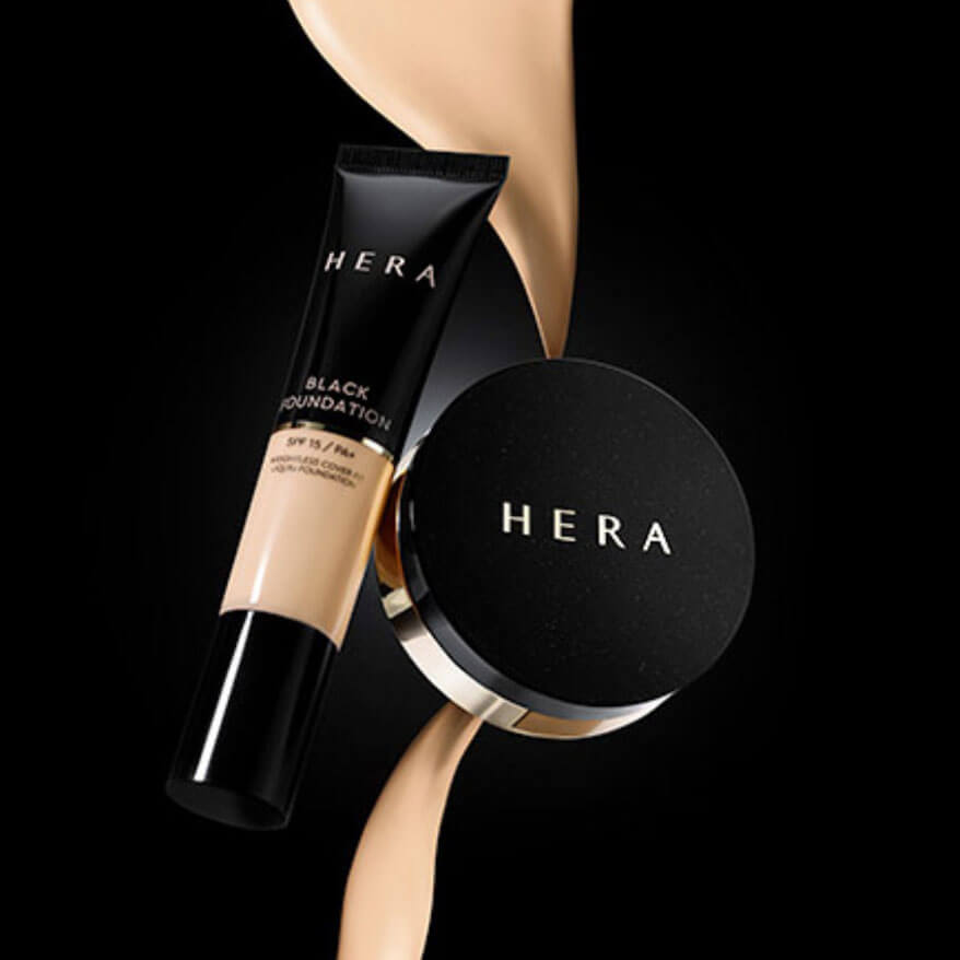 [11月 限定商品 1+1🧧 ] HERA Black Cushion + HERA Black Foundation