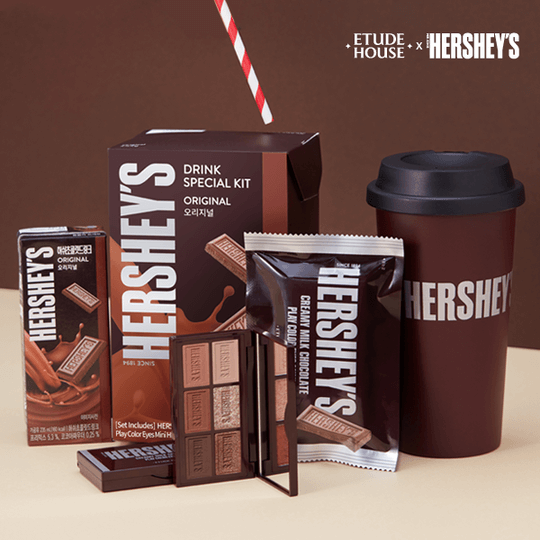 [Hello2020🐭] Etude House X Hershey's Drink Special Kit 🍫
