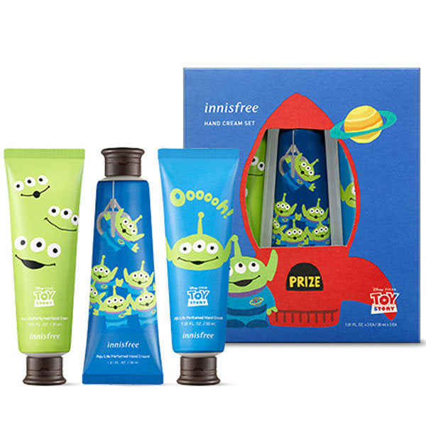 [Innisfree X Toystory] Perfumed Hand Cream Set 30ml+30ml+30ml