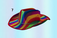 "Gay Pride Rainbow Cow ""Buddy"" Hat"