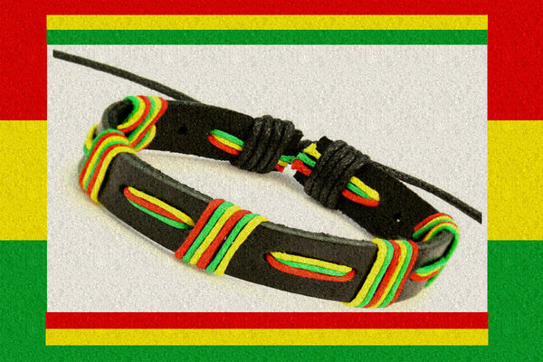 "Rastafari One Love ""Boxed"" Bracelet $12.95▼"