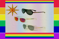 "Gay Pride Rainbow ""Flag"" Sunglasses"
