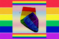 Gay Pride Rainbow Flag Beach Towel