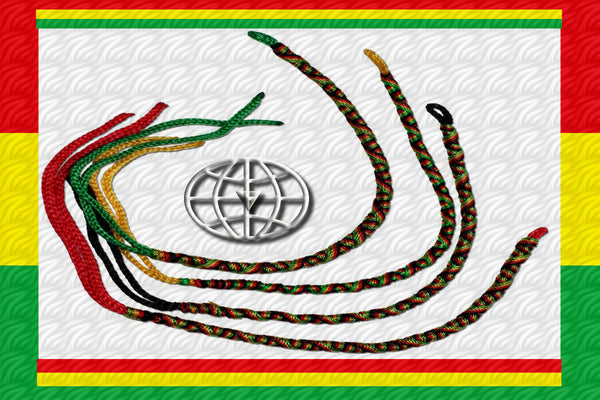 "One Love Rastafari ""Spirit Wrap"" Bracelet $8.95▼"