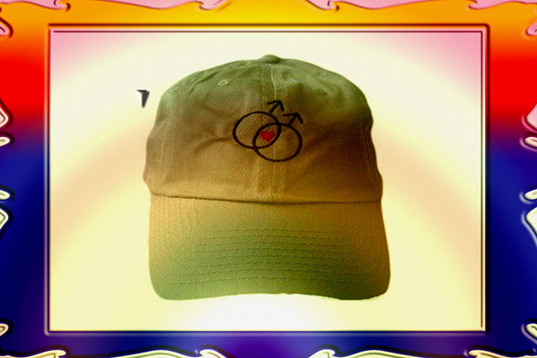 Gay Male Symbol Baseball Cap $28.95▼
