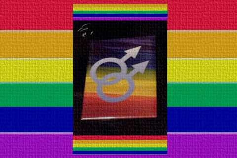 Gay Male Symbol Magnet $12.95▼