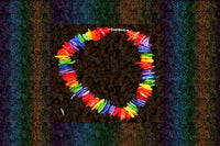 "Gay Pride Rainbow Puka Shell ""You Are Fabulous"" Bracelet"