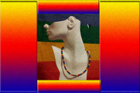 "Gay Pride Rainbow Puka Shell ""Surfer"" Necklace"