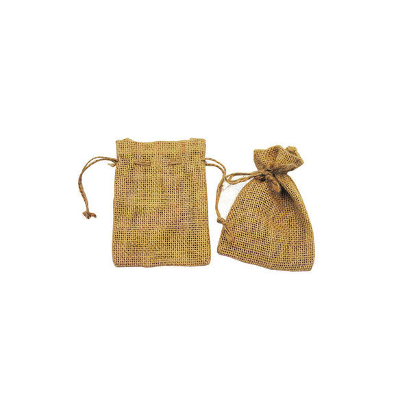 Hessian: Favour Draw String Bag