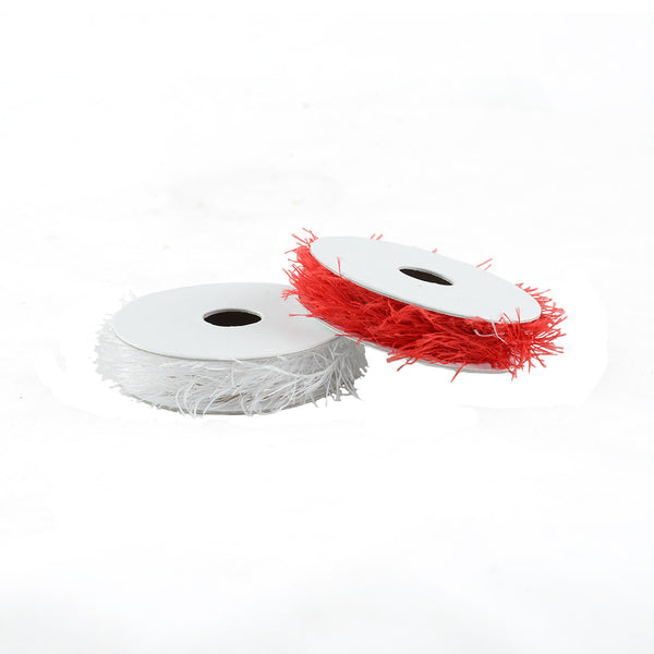 Ribbon: Red and White Flurry Ribbon