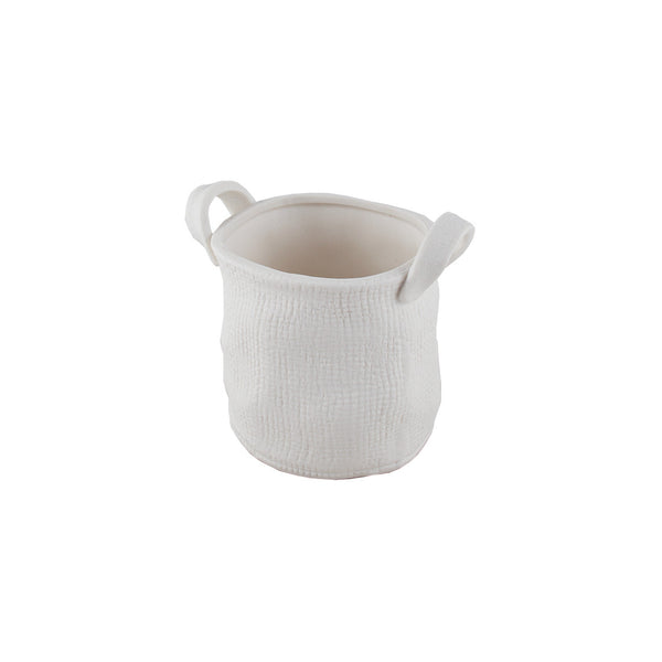 Porcelain: Basket Tall
