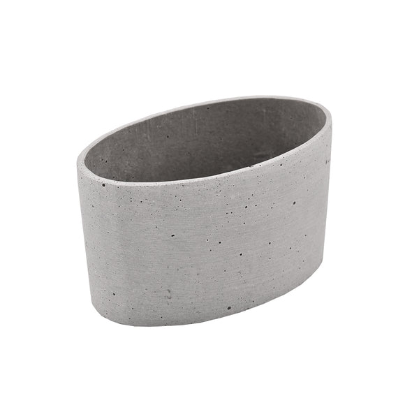 Concrete Look: Oval Squat Pot