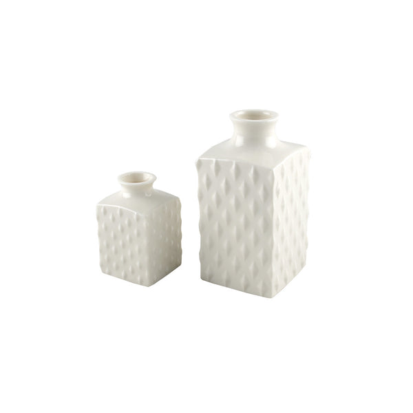 Porcelain: Polka Dot Decanter Vase