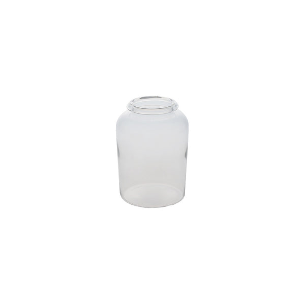 Glass Jar: Large & Slightly Rounded