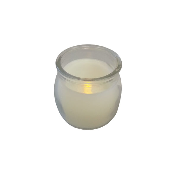 Candles: LED Glass Jar