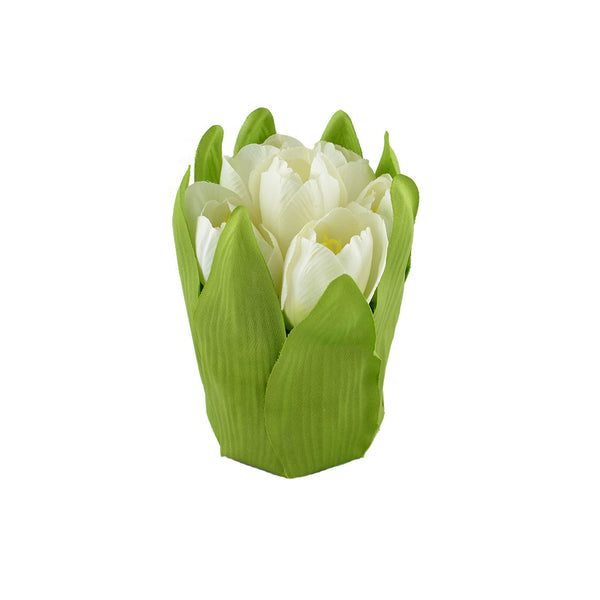 Artificial Flowers: Tulips White