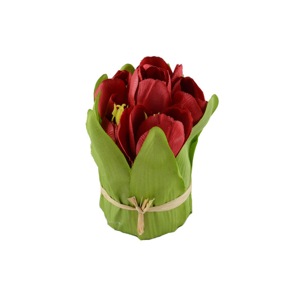 Artificial Flowers: Tulips Red