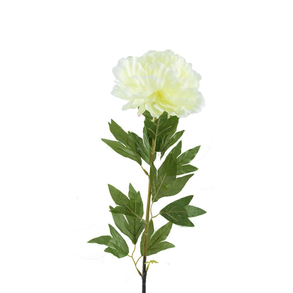 Artificial Flowers: Peonies Full Bloom- Ivory