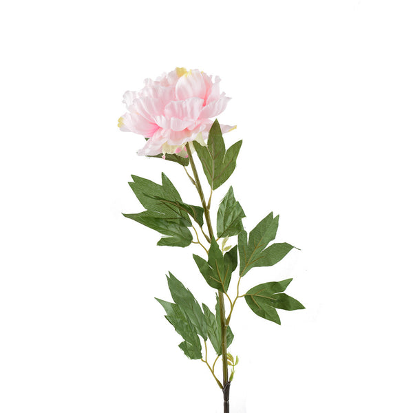 Artificial Flowers: Peonies Full Bloom- Light Pink