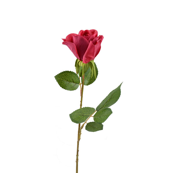 Artificial Flowers: Rose Bud Large