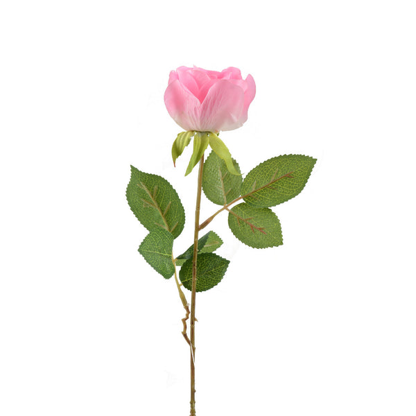 Artificial Flowers: Rose Bud Large Cerise