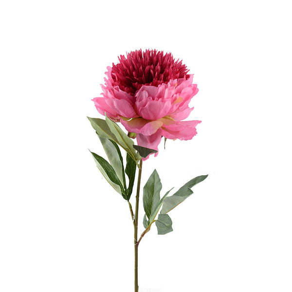 Artificial Flowers: Peony Warm Pink