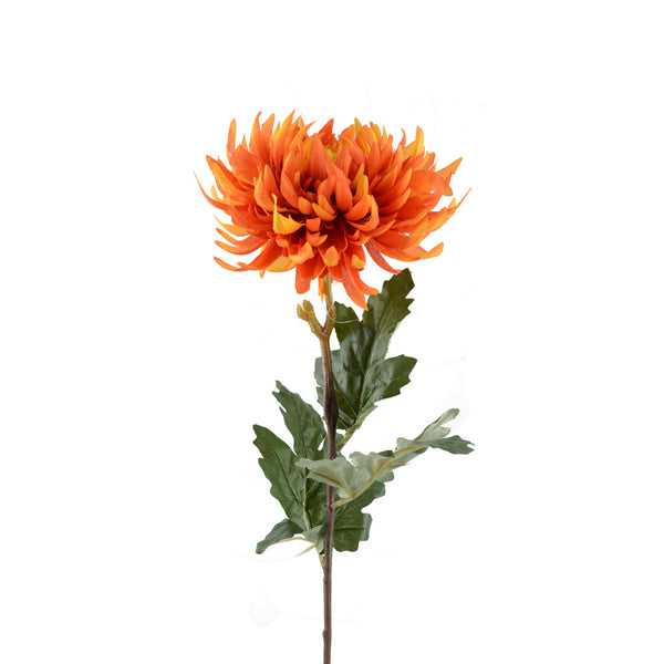 Artificial Flowers: Chrysanthemums Orange