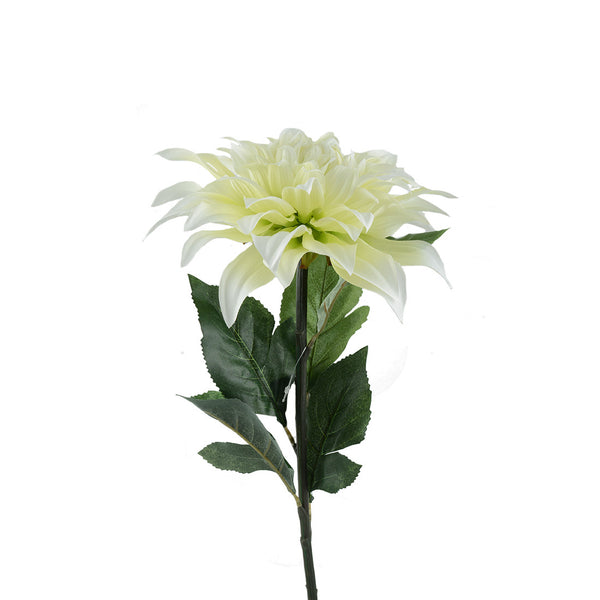 Artificial Flowers: Dahlia White