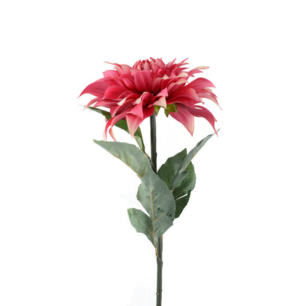Artificial Flowers: Dahlia Red