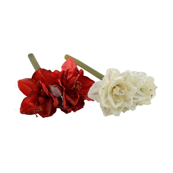 Artificial Flowers: Amaryllis Red