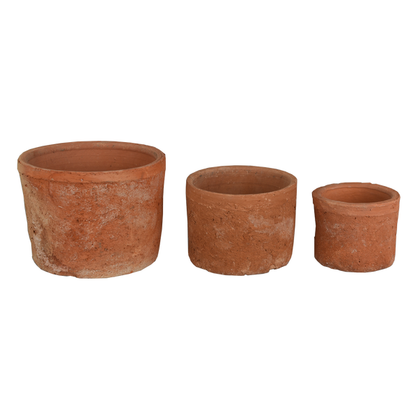 Terracotta: Squat Pot