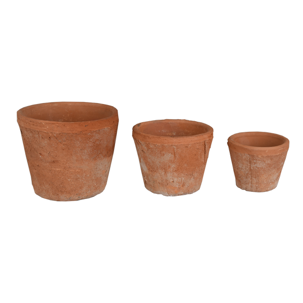 Terracotta: Taper Pot