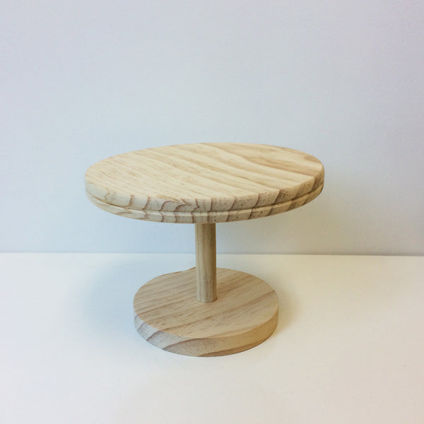 Wood: Cake Stand
