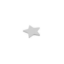 Wooden Star Decorations set of 50