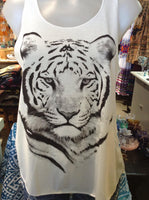 Graphic Singlet -Tiger Gaze