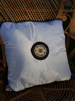 Sunburst Silk Throw Pillow