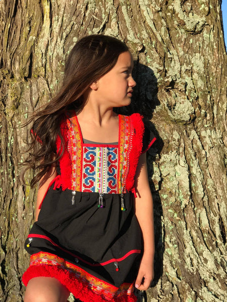 Girls Ethnic Hmong Dresses