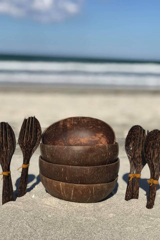 Authentic Coconut Bowl Sets