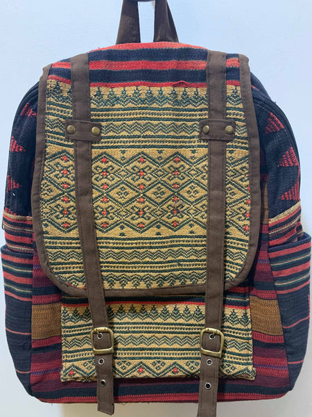 Aztec Embroidered Bag Pack