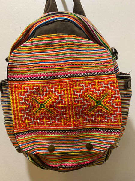 Handmade Embroidered Bag pack