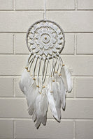 Lace & Feathers Dreamcatcher