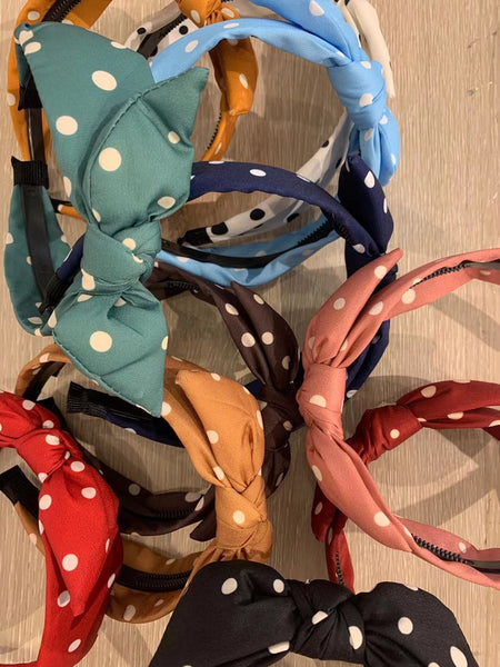 Bow Tie Headbands