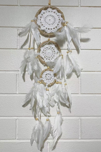Twine Crochet Dreamcatcher